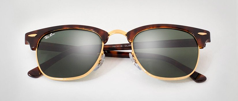 clubmaster ray ban hombre