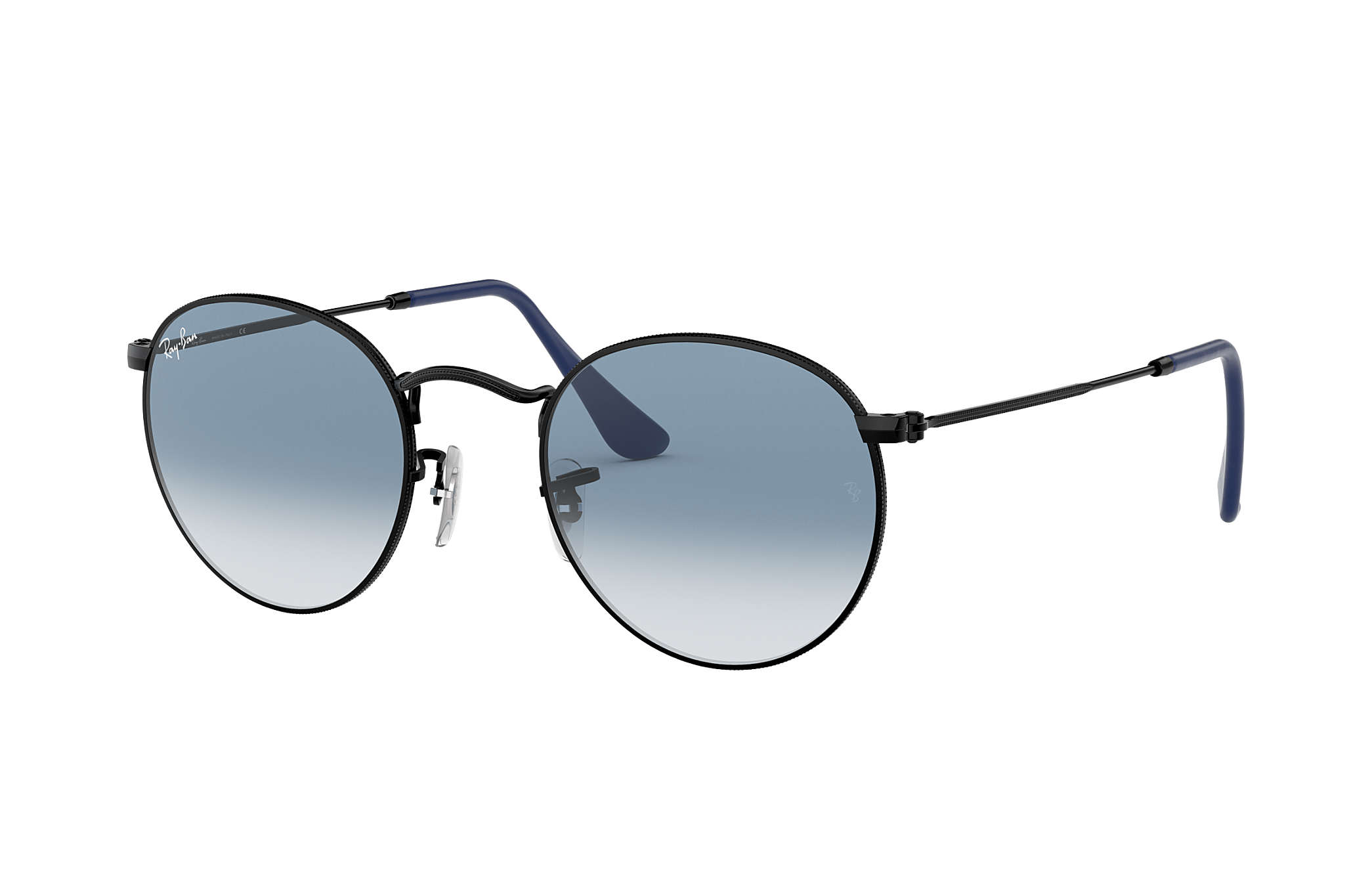 ray ban round metal hombre